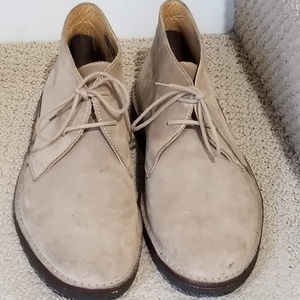 Peal & Co for Brooks Brothers Suede Chukka Boot